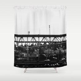 Washington Bridge Shower Curtain