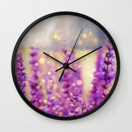 magic pink Wall Clock