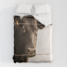 How Now, Brown Cow? Duvet Cover