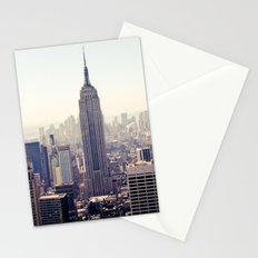 Manhattan - Empire State Building Pano | colored Stationery Cards