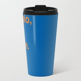 New York Knicks Travel Mug