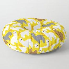 The Alpacas Floor Pillow