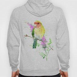 Lovebird and Flower Hoody