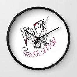 Top Hat Revolution Wall Clock