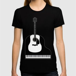Piano and Guitar T-shirt