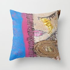 Tears of Gold Throw Pillow