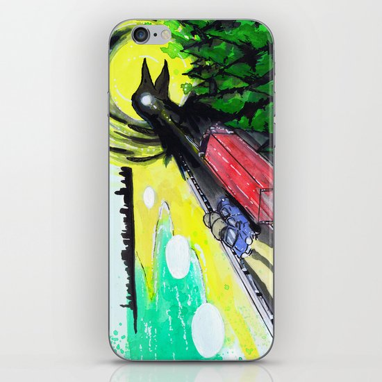 """Summer Tours"" by Cap Blackard iPhone & iPod Skin"