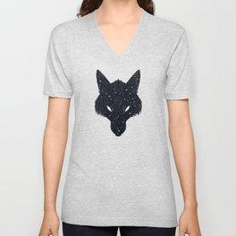 Wolf Constellation Unisex V-Neck