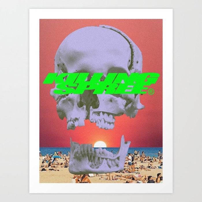 Killing Spree Art Print