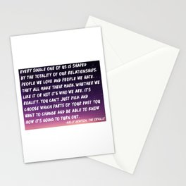 Shaped by Relationships - The Orville Stationery Cards