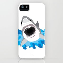 Shark Attack #2 iPhone Case