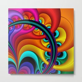 fussily Metal Print