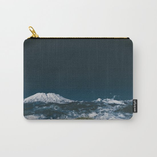 Waves of Mount Saint Helens Carry-All Pouch