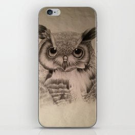 Zara-Owl iPhone Skin