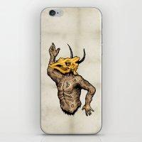taurus iPhone & iPod Skins featuring Taurus by sociopteryx