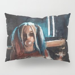 Harley Quinn - The Clown Princess Of Gotham With Her Goodnight Bat And Bubble Gum Pillow Sham