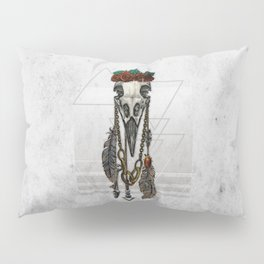 Bestial Crowns: The Crow Pillow Sham