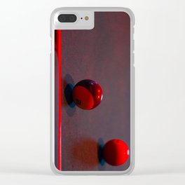 Side Pocket Clear iPhone Case