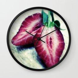 Vintage Strawb Wall Clock