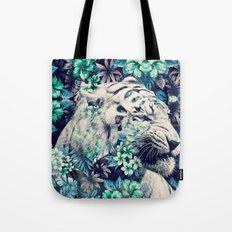 Floral Tiger Tote Bag