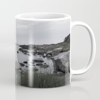 religious Mugs featuring In the north by UtArt