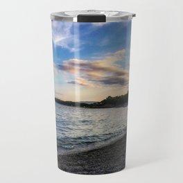 Sardinian beach Travel Mug