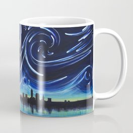 Starry Night in Cleveland Coffee Mug