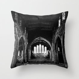 St Lukes Church, Abercarn, South wales, UK - 07 Throw Pillow