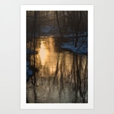 Early Morning Winter Art Print