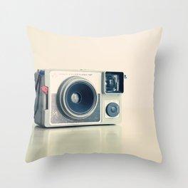 Film Camera Leduc Color Flash 127 Throw Pillow