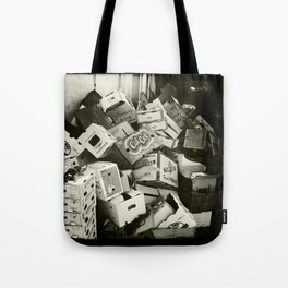 Topless fresh spinach Tote Bag
