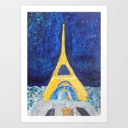 Paris Nights Art Print