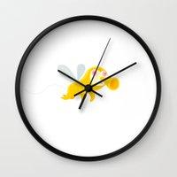 bug Wall Clocks featuring bug by simon oxley idokungfoo.com
