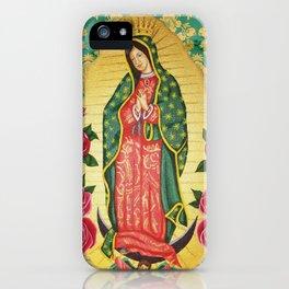 Nuestra Señora de Guadalupe iPhone Case