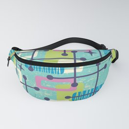 Mid Century Modern Abstract Pattern 835 Fanny Pack