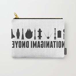 Beyond imagination: Battlestar Galactica postage stamp  Carry-All Pouch