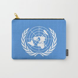UN Flag of United Nations Carry-All Pouch