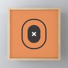 Target Framed Mini Art Print