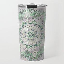 Spring Rain Mandala Travel Mug