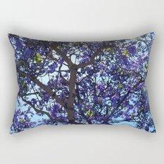 Jacaranda in Spring Rectangular Pillow