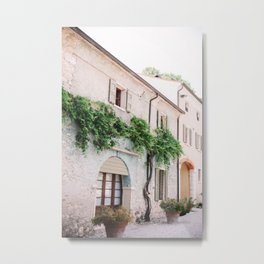 Italian Winery Metal Print