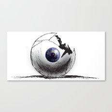 Broken Eye Canvas Print