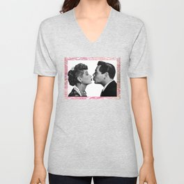 Uh-Oh, Love Comes to Town Unisex V-Neck