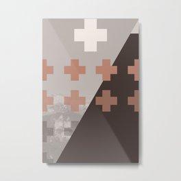 Swiss//Seventeen Metal Print