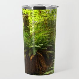Rainforest Ferns Travel Mug