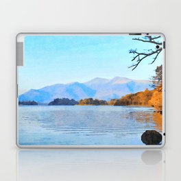 Mountains Behind Derwentwater, Lake District, Cumbria, UK Laptop & iPad Skin
