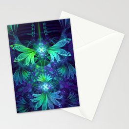 The Clockwork Kite Wings of a Blue-Green Dragonfly Stationery Cards
