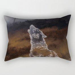 Here, Elsewhere Rectangular Pillow