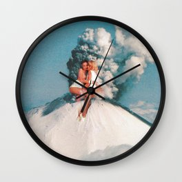 Eruptions 2 Wall Clock