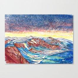 Summit Lake, Mount Evans Canvas Print